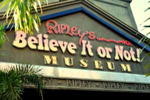 Ripley's Belive It Or Not